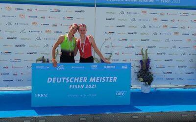 Deutsche Meisterin und Vizemeisterin U19 2021